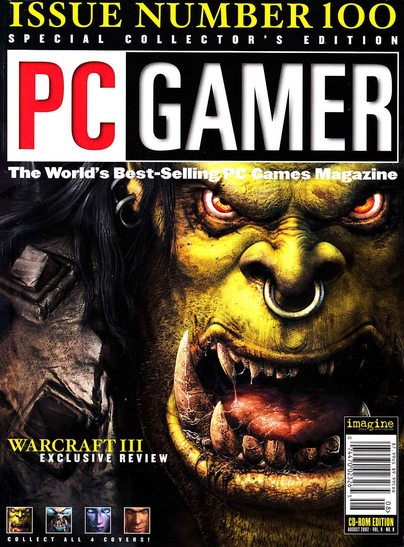 PC Gamer Issue 100 (August 2002) (cover a)