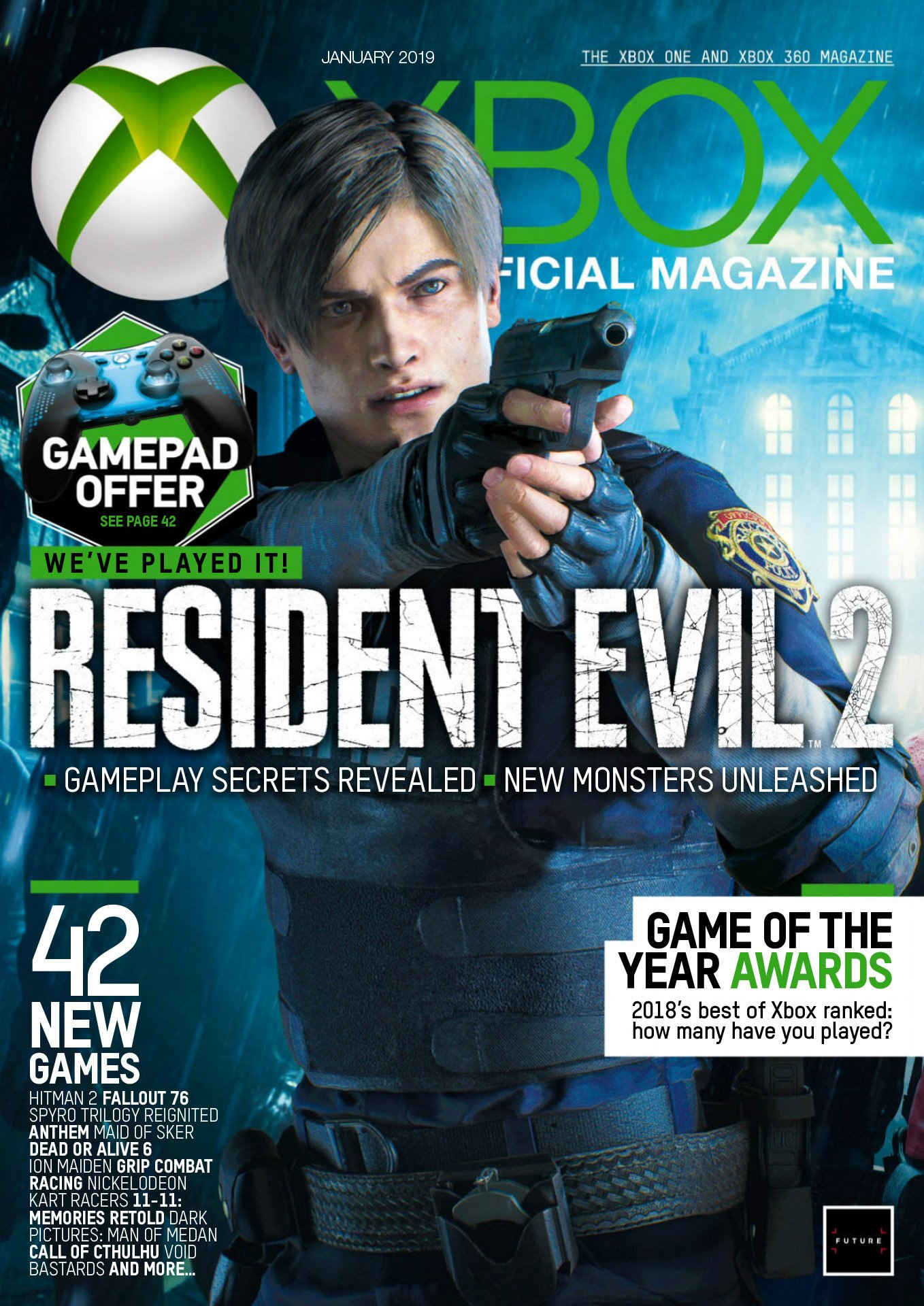 XBOX The Official Magazine Issue 172 (January 2019)