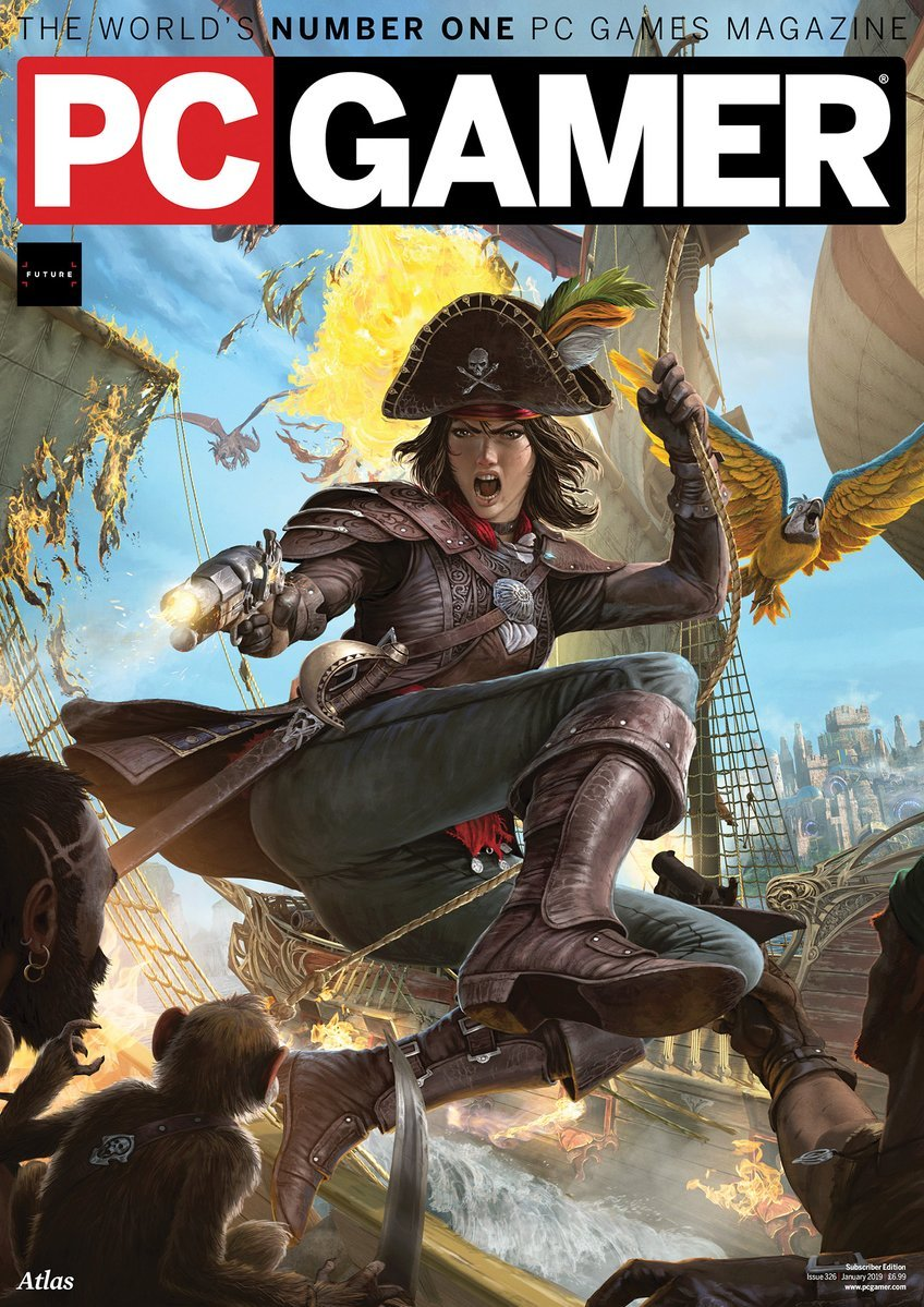 PC Gamer UK 326 (January 2019) (subscriber edition)