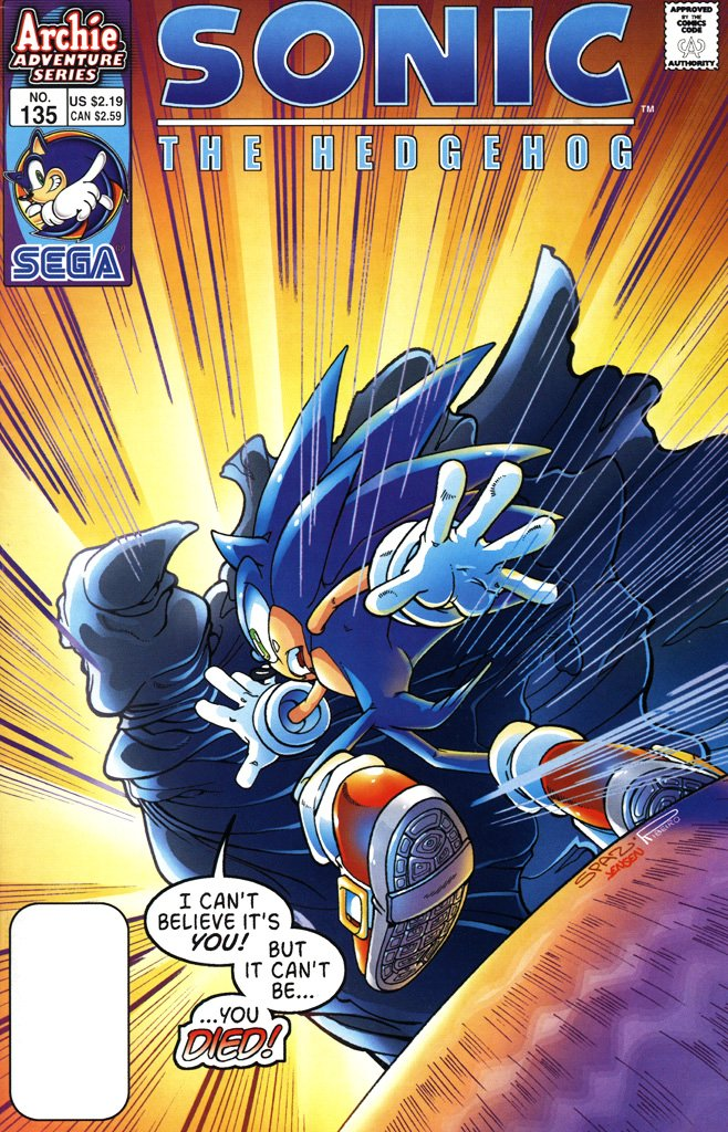 Sonic the Hedgehog 135 (June 2004)