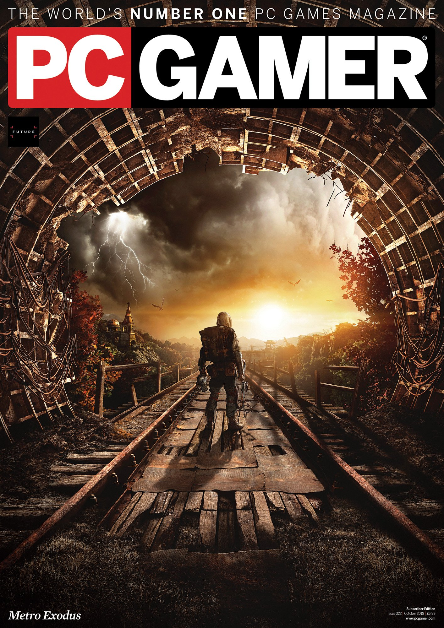 PC Gamer UK 322 (October 2018) (subscriber edition)