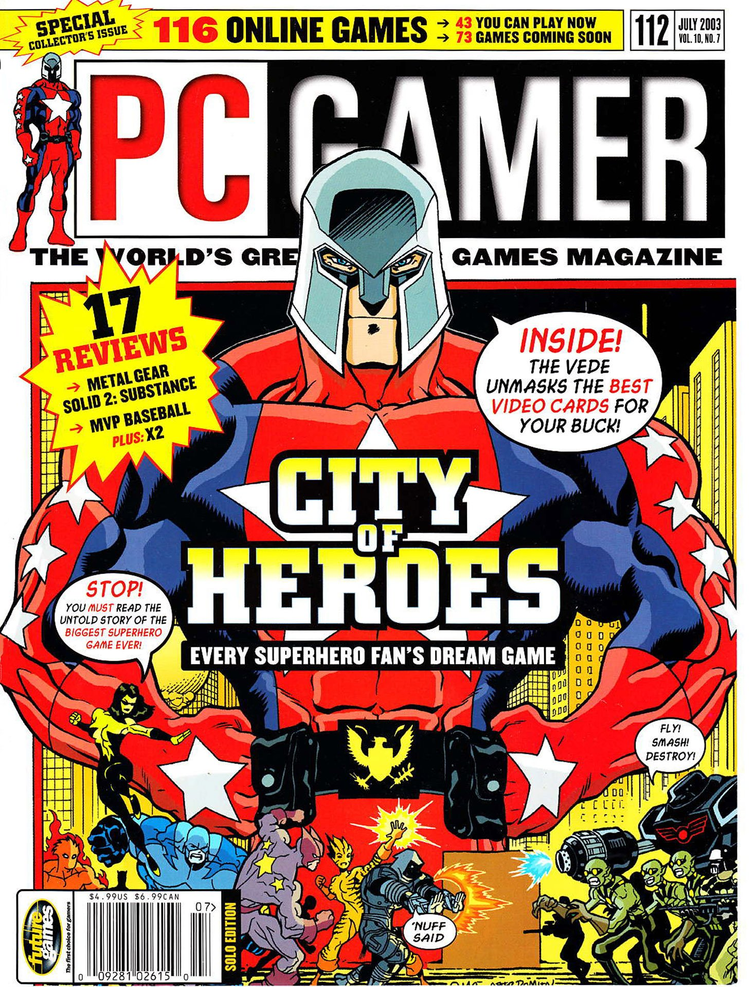 PC Gamer Issue 112 (July 2003)