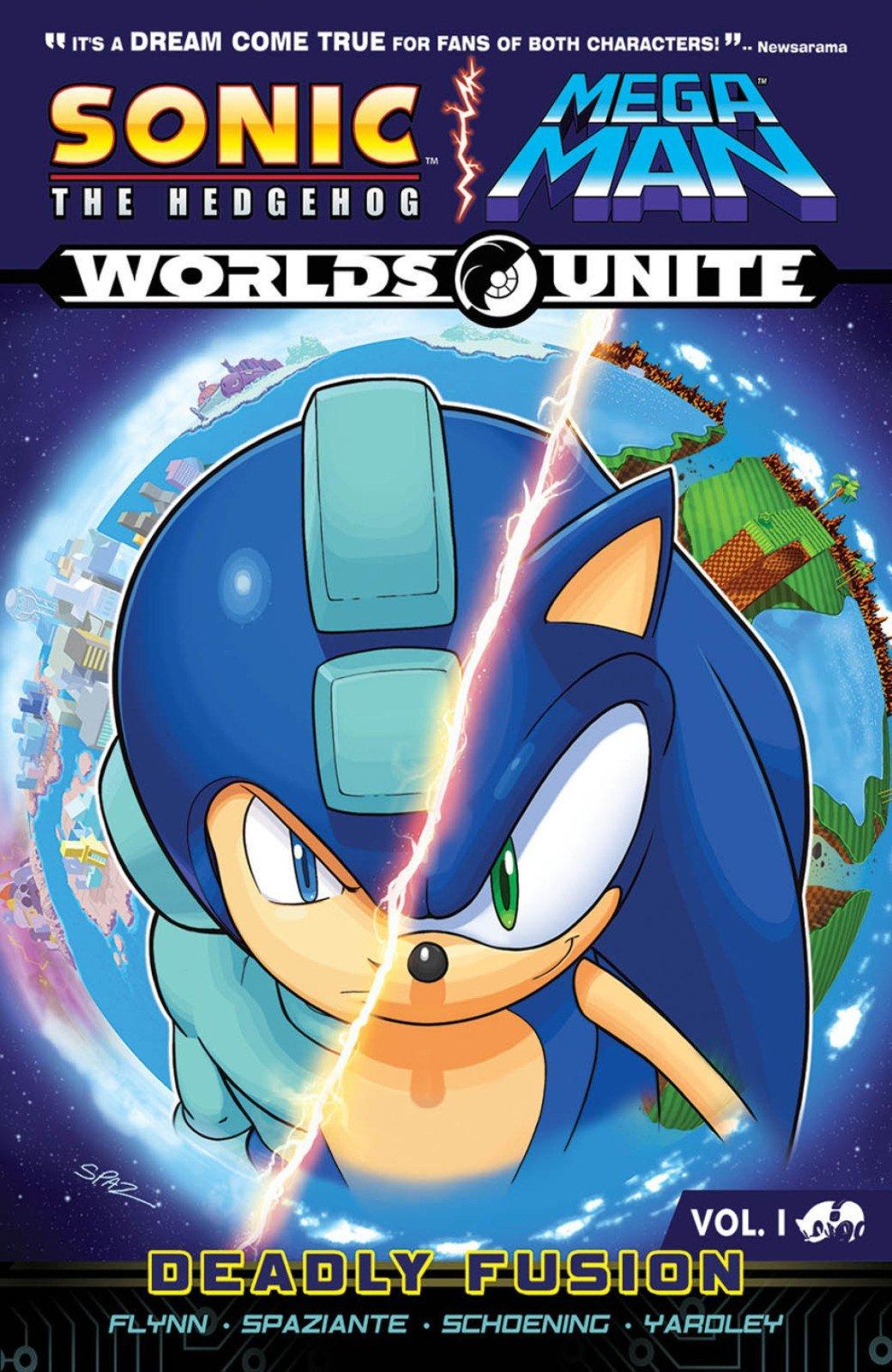 Sonic the Hedgehog / Mega Man: Worlds Unite Vol.1 - Deadly Fusion