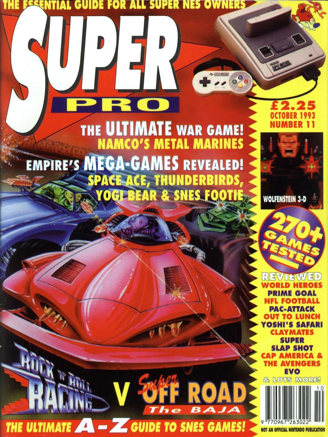 Super Pro Issue 11 (October 1993)