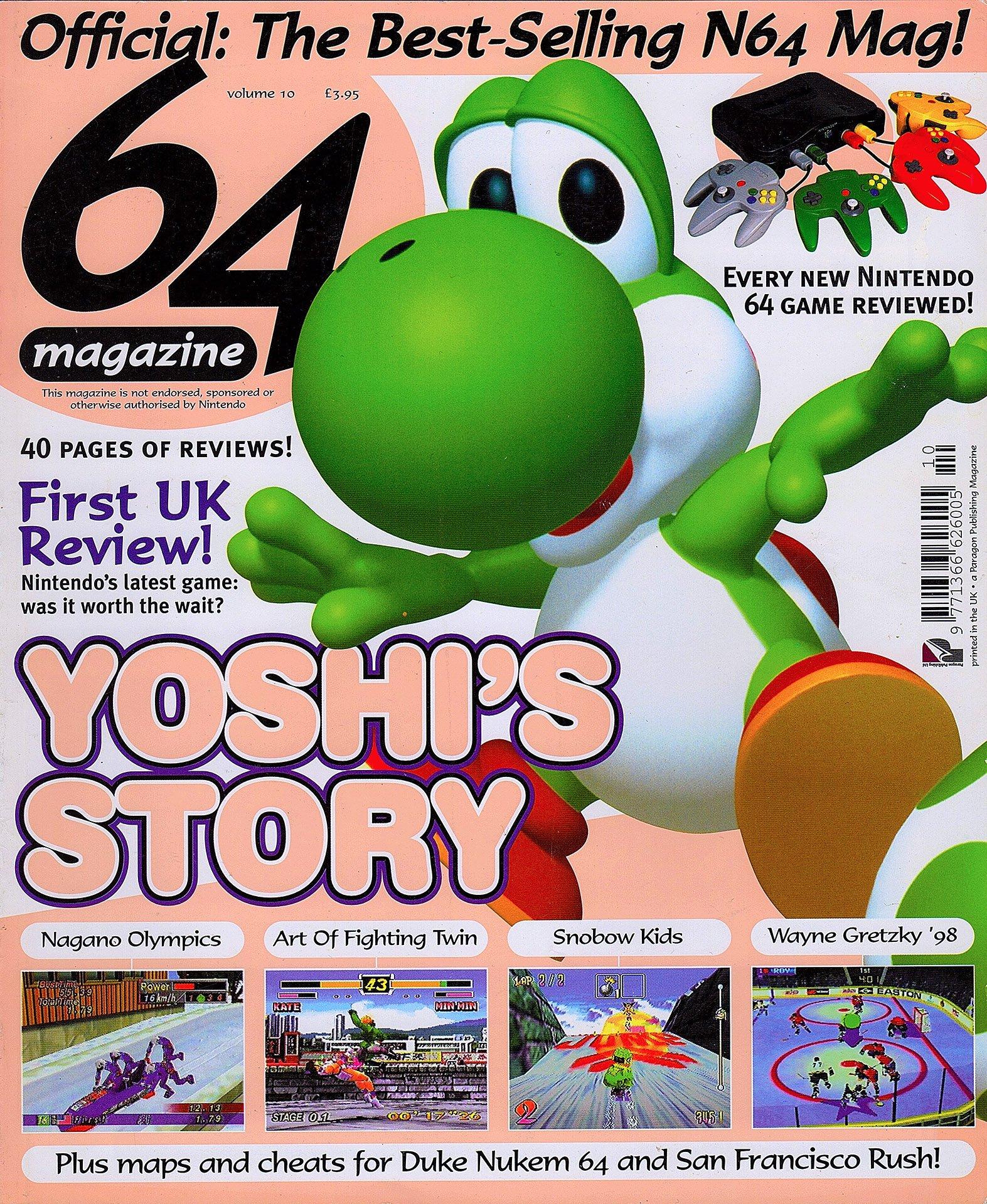 64 Magazine Issue 10 (March 1998)