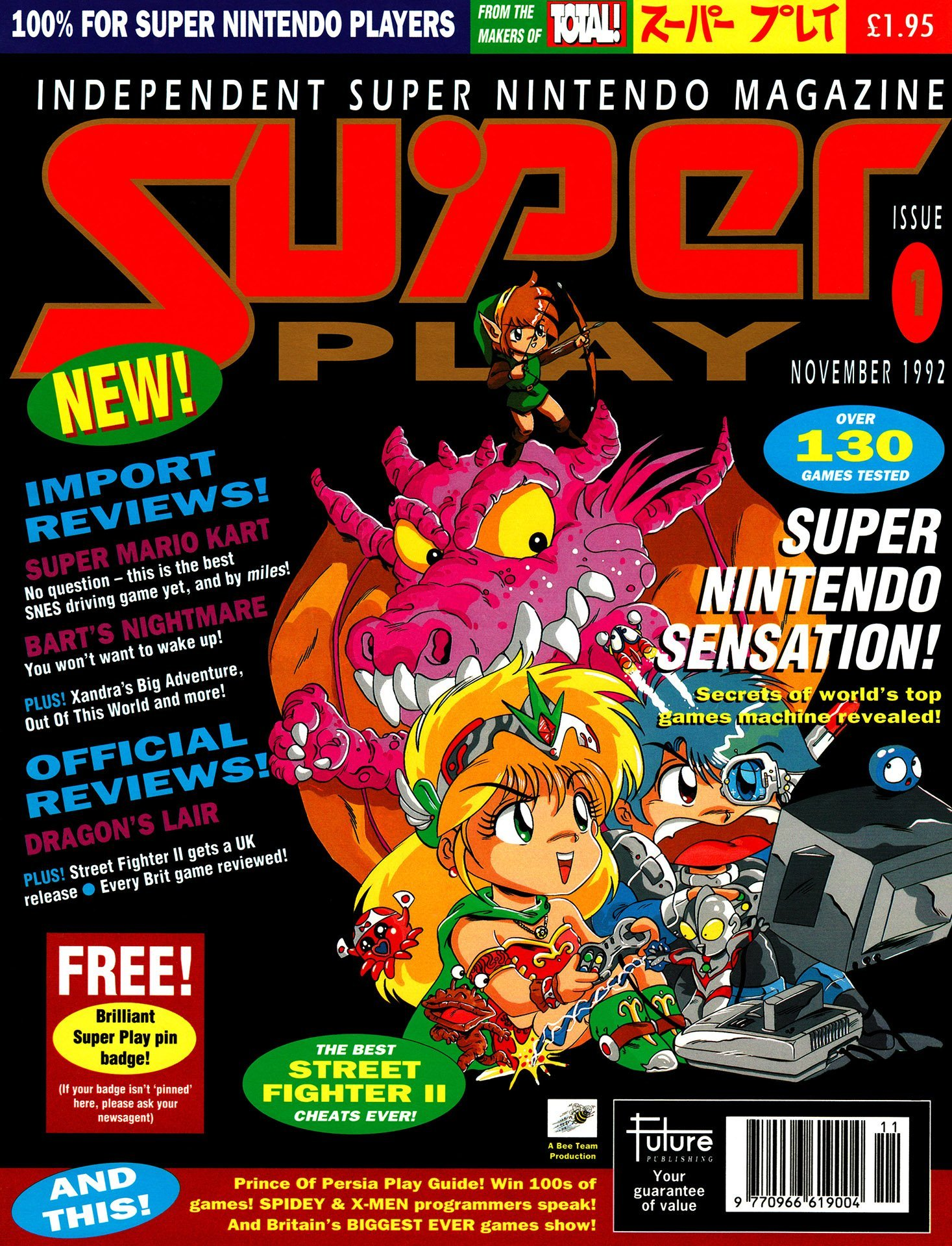 Super Play Issue 01 (November 1992)