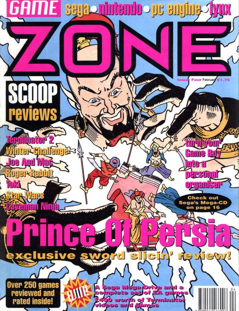 Game Zone Issue 04 (February 1992)