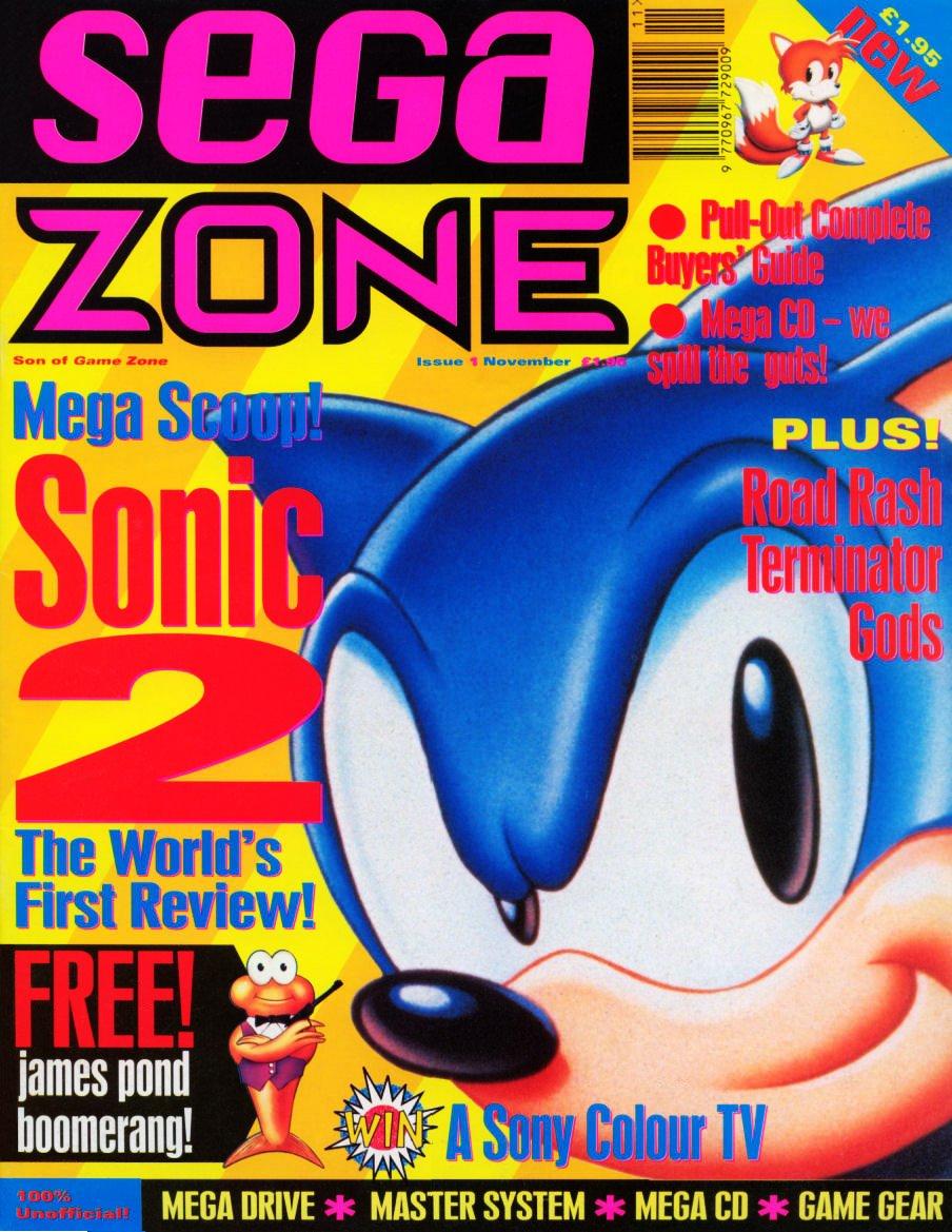 Sega Zone Issue 01 (November 1992)