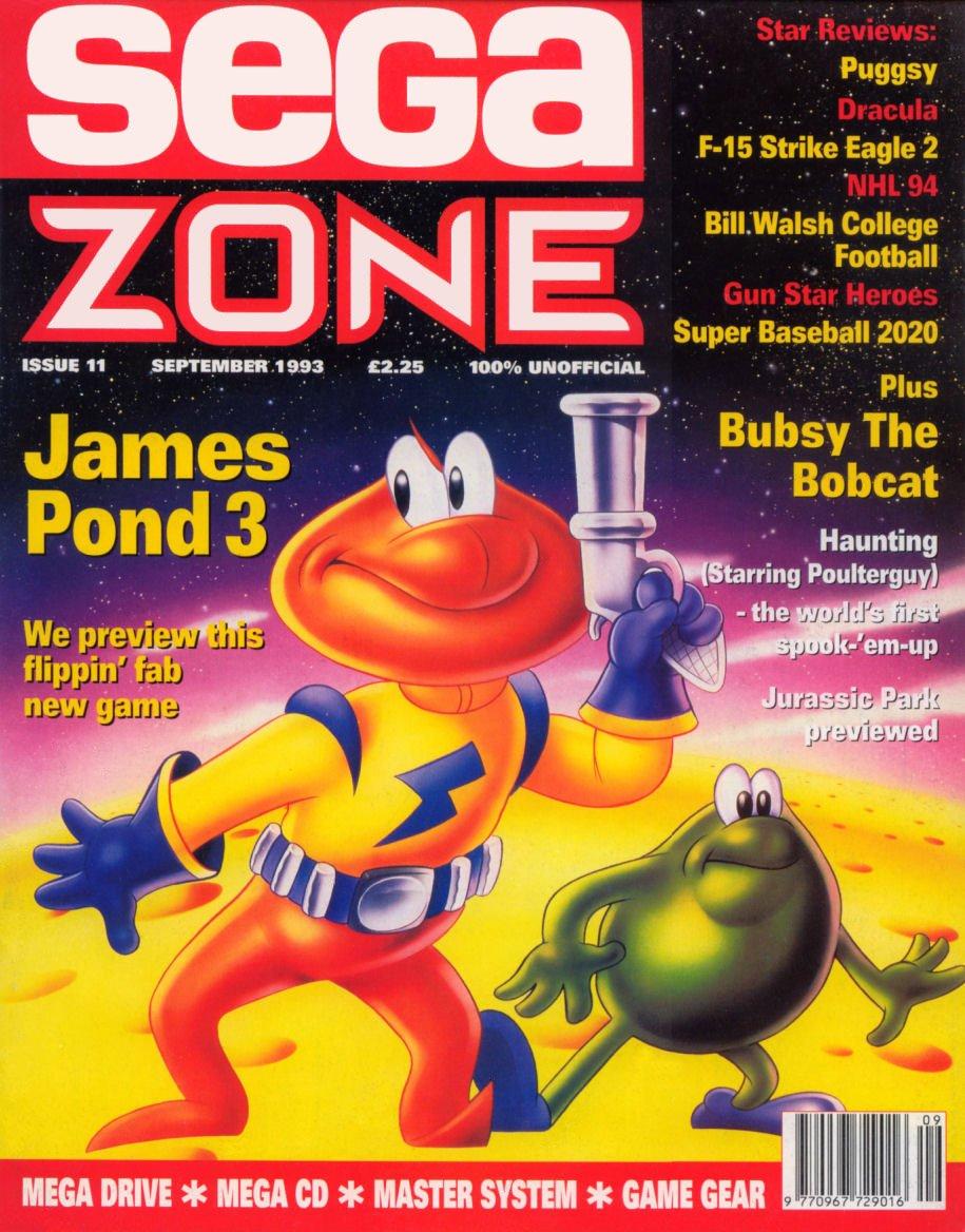 Sega Zone Issue 11 (September 1993)