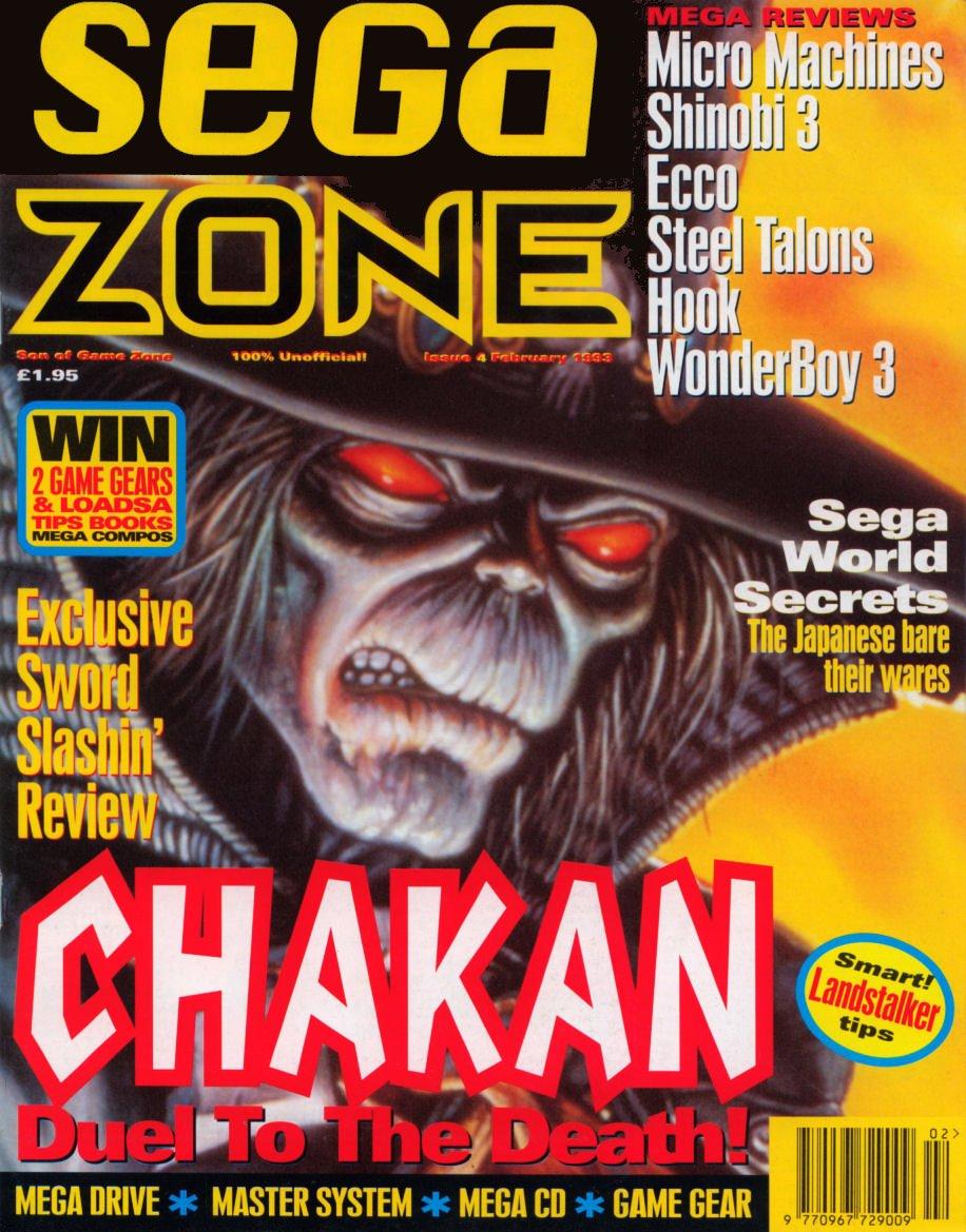 Sega Zone Issue 04 (February  1993)