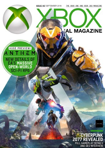 XBOX The Official Magazine Issue 167 (September 2018)