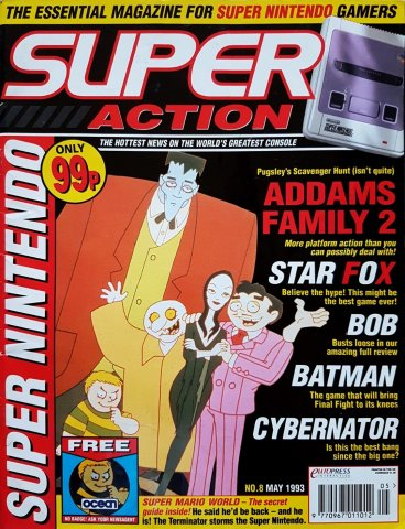 Super Action Issue 08 (May 1993)