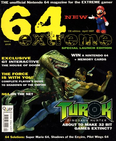 64 Extreme Issue 01 (April 1997)