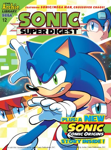Sonic Super Digest 12