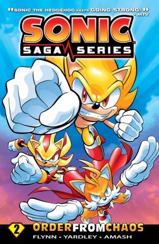 Sonic Saga Series Vol.2 Order From Chaos