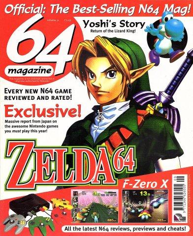64 Magazine Issue 09 (February 1998)