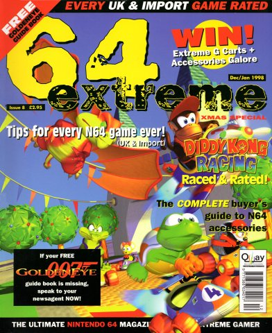 64 Extreme Issue 08 (December/January 1998)