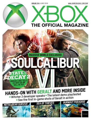 Official Xbox Magazine Issue 214 (June 2018)