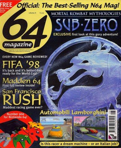 64 Magazine Issue 08 (January 1998)