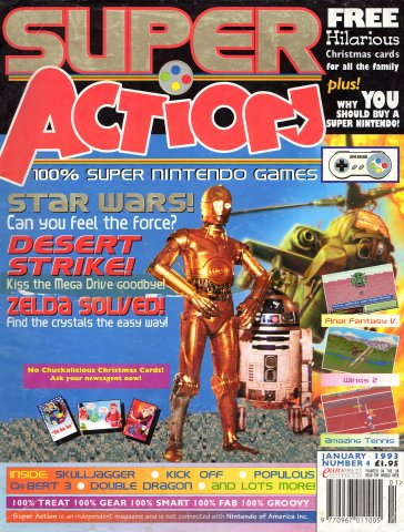 Super Action Issue 04 (January 1993)