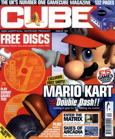 Cube Issue 20 (July 2003)