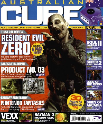 Cube (AUS) Issue 06 (March 2003)