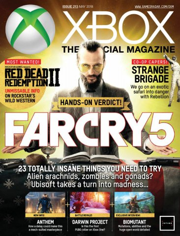 Official Xbox Magazine Issue 213 (May 2018)