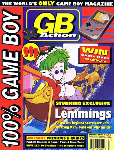 GB Action Issue 08 (January 1993)