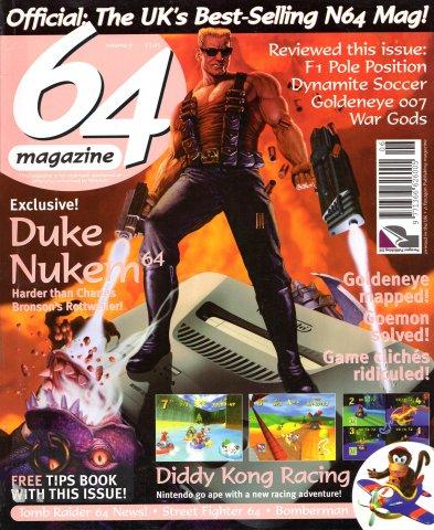 64 Magazine Issue 06 (November 1997)