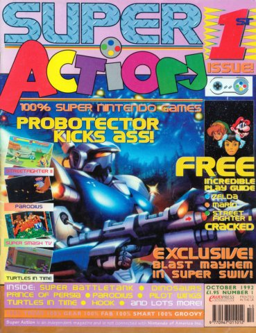 Super Action Issue 01 (October 1992)