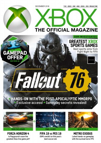 XBOX The Official Magazine Issue 170 (December 2018)