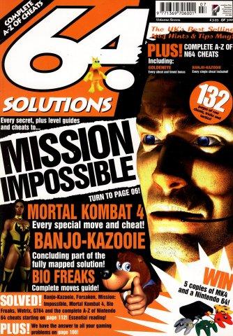 64 Solutions Volume 07 (October 1998)