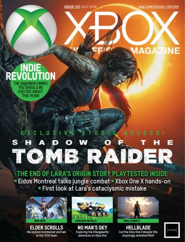 Official Xbox Magazine Issue 215 (July 2018)