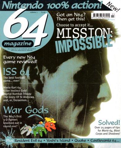 64 Magazine Issue 03 (July-August 1997)