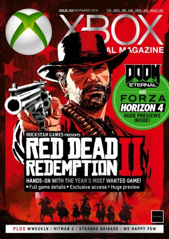 XBOX The Official Magazine Issue 169 (November 2018)