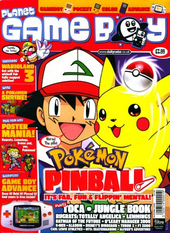 Planet Game Boy Issue 04 (Autumn 2000)