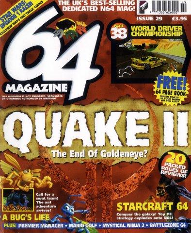 64 Magazine Issue 29 (October 1999)