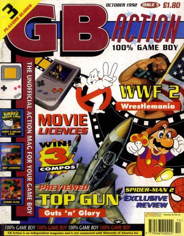 GB Action Issue 05 (October 1992)