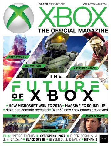 Official Xbox Magazine Issue 217 (September 2018)