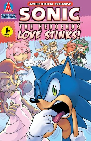 Sonic the Hedgehog: Love Stinks