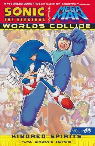 Sonic the Hedgehog / Mega Man: Worlds Collide Vol.1 - Kindred Spirits