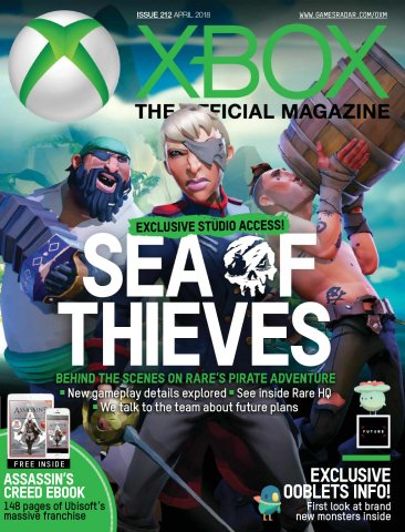 Official Xbox Magazine Issue 212 (April 2018)