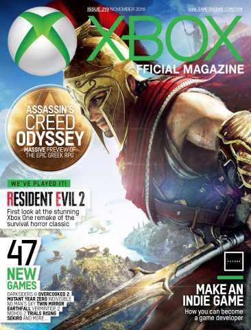Official Xbox Magazine Issue 219 (November 2018)