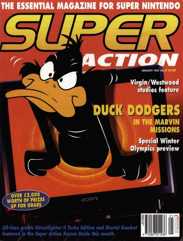 Super Action Issue 17 (January 1994)