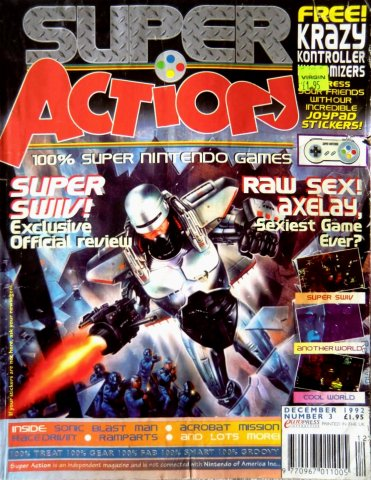 Super Action Issue 03 (December 1992)