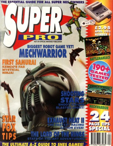 Super Pro Issue 05 (April 1993)