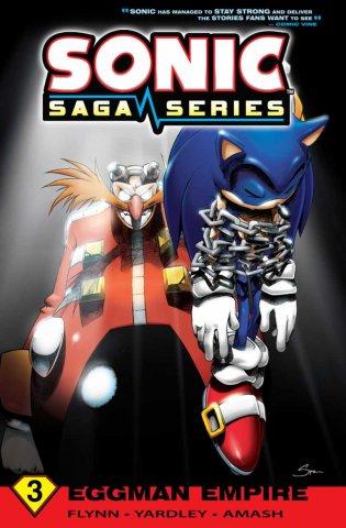 Sonic Saga Series Vol.3 Eggman Empire