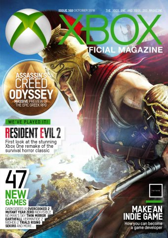 XBOX The Official Magazine Issue 168 (October 2018)