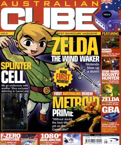 Cube (AUS) Issue 05 (January 2003)