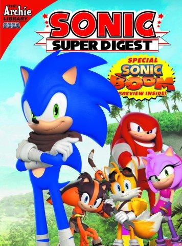 Sonic Super Digest 10
